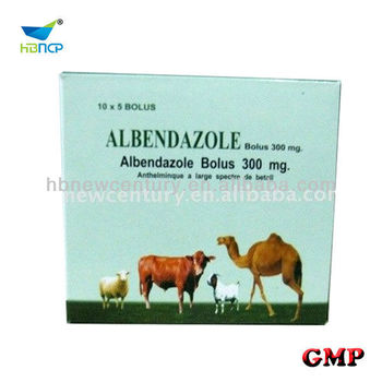 Albendazole Tablet 300mg, 600mg,2500mg