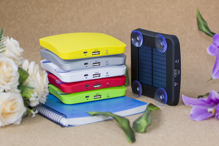 Solar Charger For mobile Phone, GPS, Camera, Digital devices Portable window Solar Power Bank