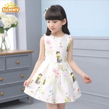 2018 Latest girl Frocks Designs Cotton Fancy dresses for Baby Girls