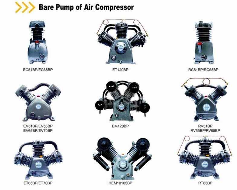 1/4HP to 30HP good quality compressor bare pump