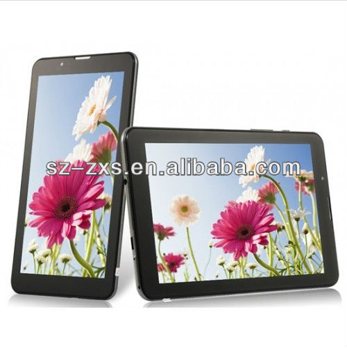 ZXS-MTK6577 OEM 1G/8G MID WCDMA 3G Phone Call Tablet PC 7Inch Android 4.0 Tablet PC Dual Camera Dual Core Dual Sim GPS Bluetooth
