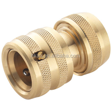 precision custom brass male and female water hose connector,quick coupling hose connector