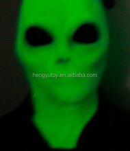 2015 the latest Cosplay prop Novelty as shiny led dress alien mask Glow in the Dark