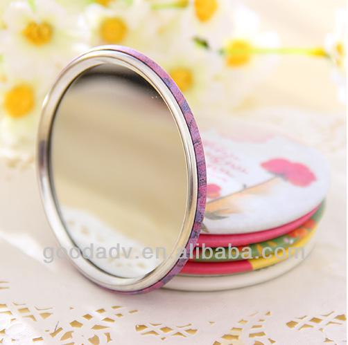 Professional custom cool compact mirrors cosmetic mirror