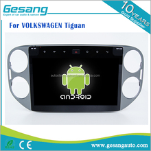 10.1 inch 2 din in-dash android 6.0 car car dvd player radio gps for VOLKSWAGEN Tiguan with wifi 3g BT DVR IPOD TV tuner AM/FM