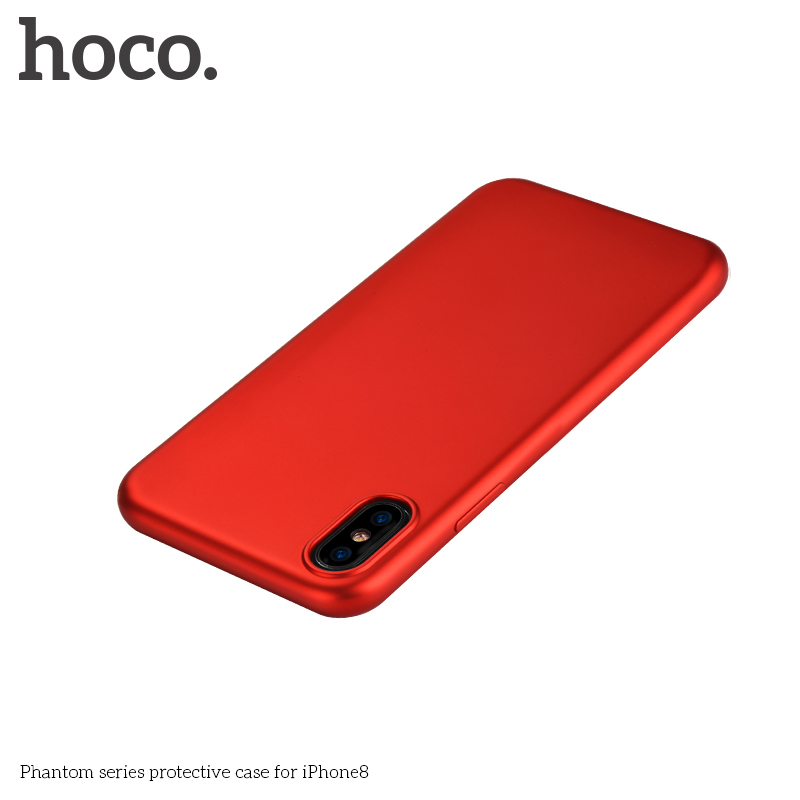 Hoco Original Shockproof Soft TPU Skin Back Cover Case For iPhone X 7 7S Plus