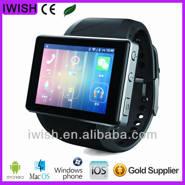 android 4.0 wrist watch tv mobile phone