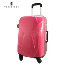 Personalized Abs Hard Shell Plastic Cover Trolley Case