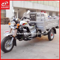 Semi-Enclosed Cabin Cargo Pedicab / Chinese Reverse Trikes Made In China