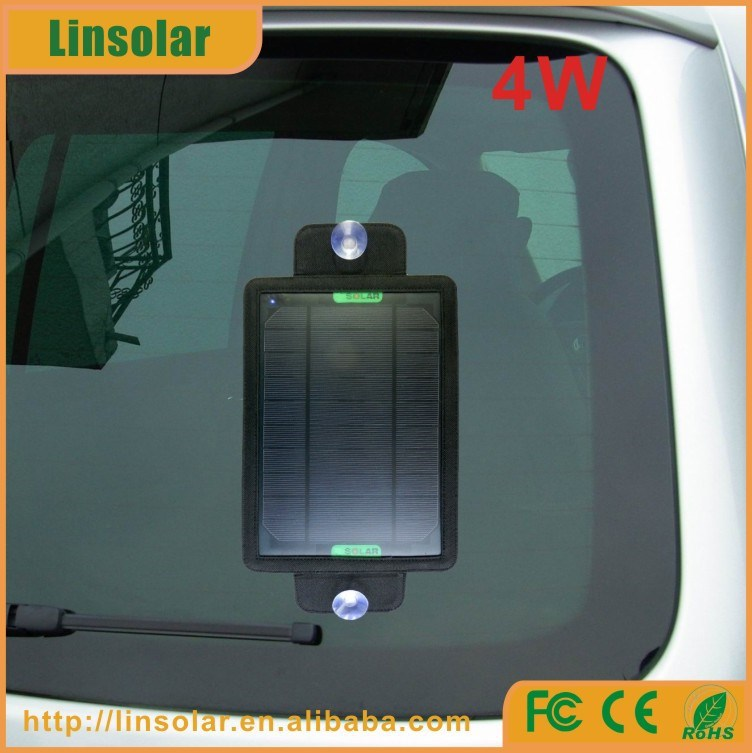 solar powered window socket 4W USB5V Portable power socket