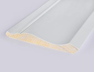 White Primed Finger Joint MDF crown moulding for Interior Decorative