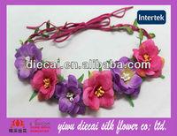 Floral Jasmin Silk Flower Wedding Wreaths