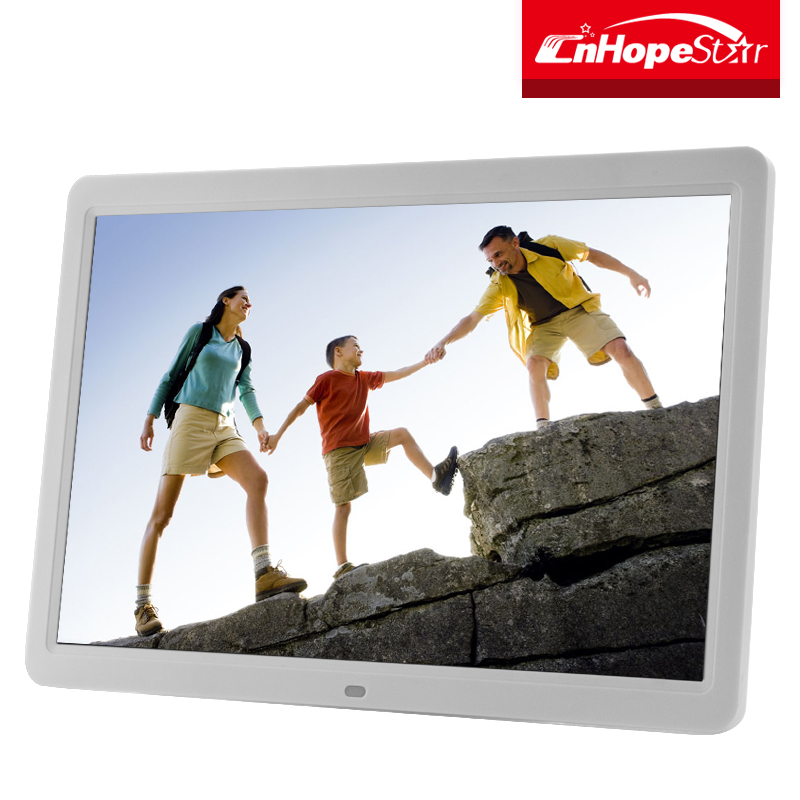 15 inch lcd monitor pop display digital photo & video frame in retail stores