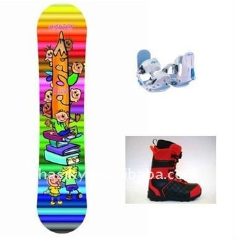 Kids Snowboard Sets, Snowboard+Binding+boot
