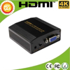 hdmi/mhl to vga+audio & av and TV converter double moudle support 1080p / digital decoder /LPCM/PCM to analog stereo