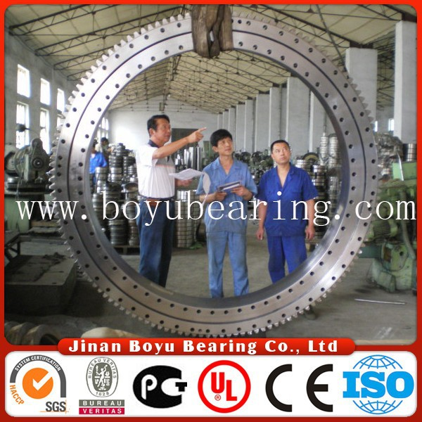 RB 11012 turntable bearing with stock cross roller model