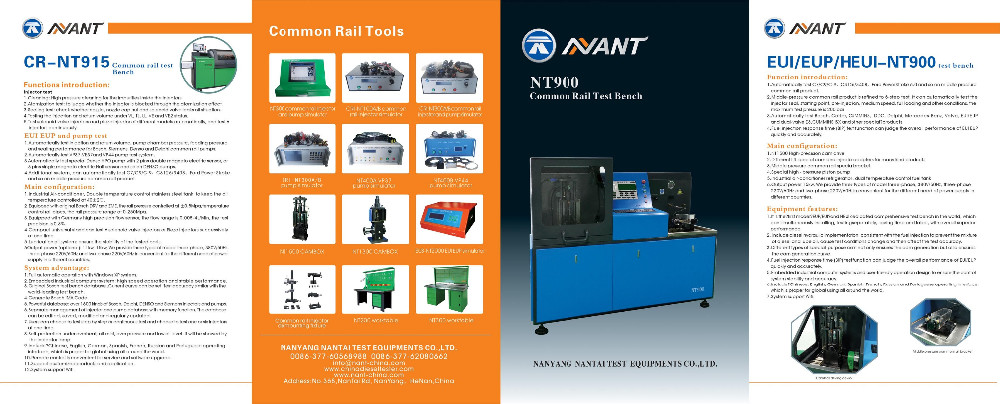 common rail test bench CRI-NT916
