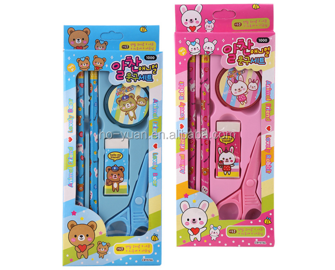 School supplies stationary kids custom stationery set for wholesale