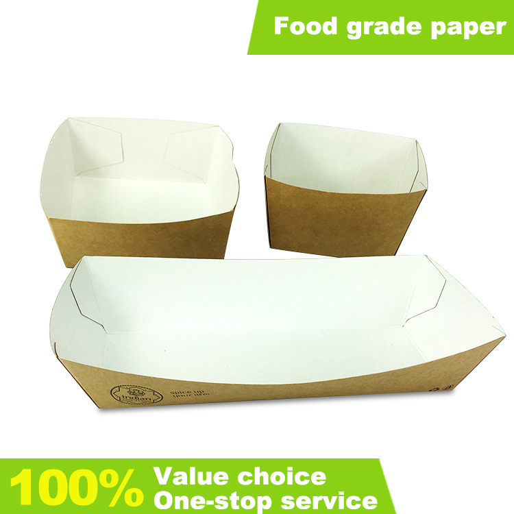 Paper Fried Chicken Box With Custom Design kraft paper box packing container