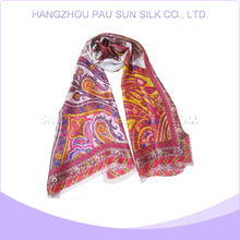 Latest trendy design flower printed shawl