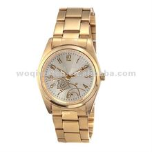 2012 fashion ladies 24K gold watches