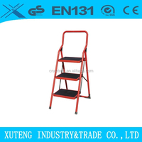 ladder metal prices,EN131 steel folding step ladder