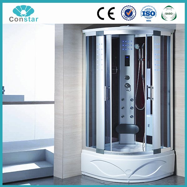 High tray steam shower cabin good acrylic ABS bathroom cabinet strong good quality superior hot shower cabin