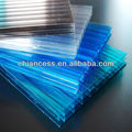 100% virgin ten years guarteen polycarbonate hollow pc sheet