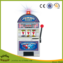 Lucky pvc soft money saving box, Slot Machine digital money box, creative pvc coin box