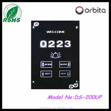 2016 hotel electronic doorplate touch panel electrical doorbell doorplate with DND and Clean