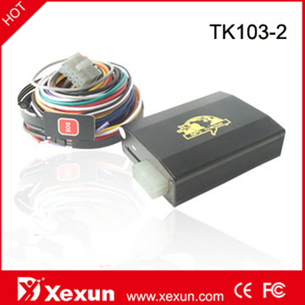 Updated Original XeXun TK103-2 GPS for Truck Tracking with more input Signal
