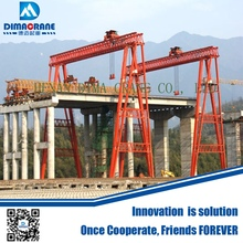 100 ton 120 ton bridge beam hoisting gantry crane price in precast girder lifting station for express way high way railway build
