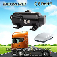 12v small rooftop van air conditioner for truck cabin box