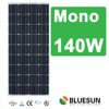 Best sell bluesun high efficiency low price Mono 140W solar panel price list for home use