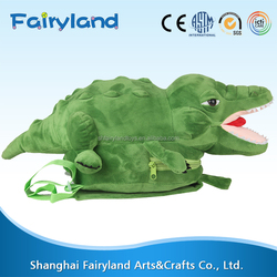 China top ten selling products Crocodile shape backpack