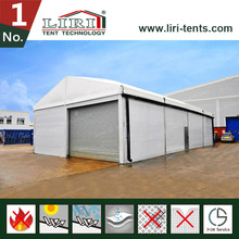 Flat roof tent for warehouse inflatable marquee