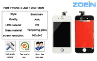 China Wholesale Mobile phone LCD for iPhone 4 4s LCD screen display with touch screen
