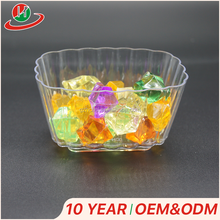 Promotion wholesale oem design pp ps dessert cup disposable plastic jelly / ice cream / pudding cups