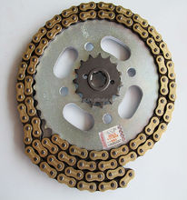 high quality motorcycle parts of motorcycle chain and motorcycle chain sprocket price
