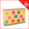 Eco-friendly raw materials of shopping paper bag with lanyard handle