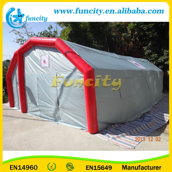 Inflatable hospital tent/inflatable emergency military shelter tent/inflatable medical tent
