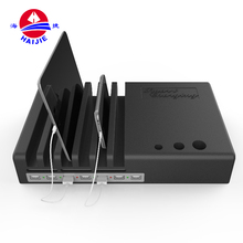 Unique design portable multi charger USB cell mobile phone charging station