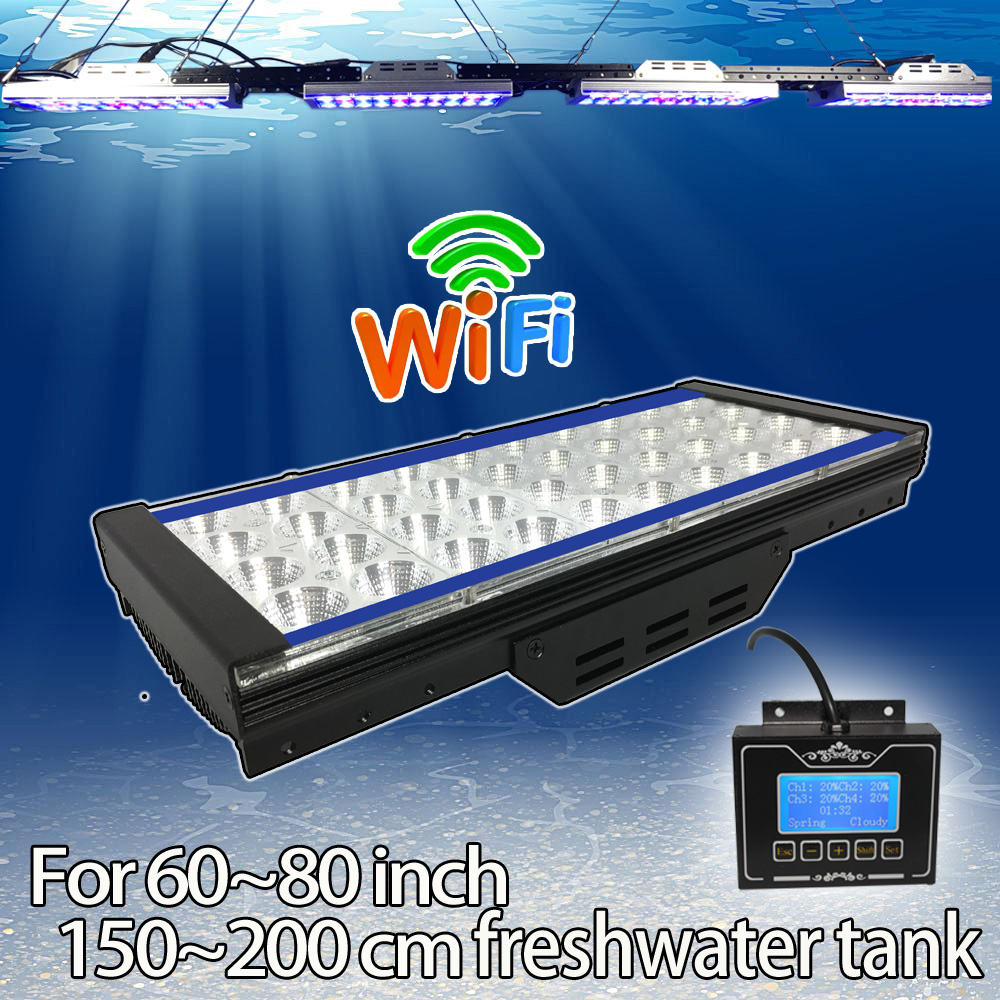led <strong>l2</strong> lanterna mergulho reposicao DSunY wifi programable sunrise sunset for marine saltwater led aquarium lps/sps reef coral fi