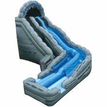 outdoor funny giant wave slide slip inflatable