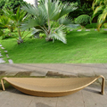 Uplion RS8075 outdoor rattan leaf sun lounger