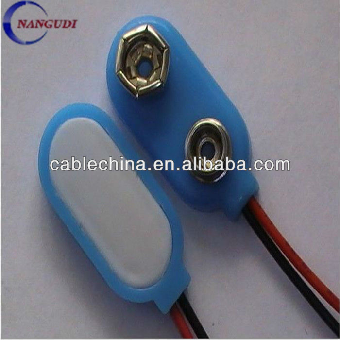 type I/T electronic toys, electronic gifts, anti-theft devices 9V/12V/18V/27V battery snap connectors