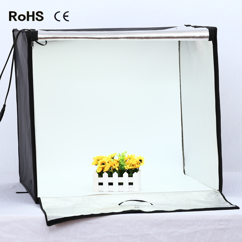 SH Portable Shooting LED Box Photography Light Cube Tent for Products Jewelry Large Size