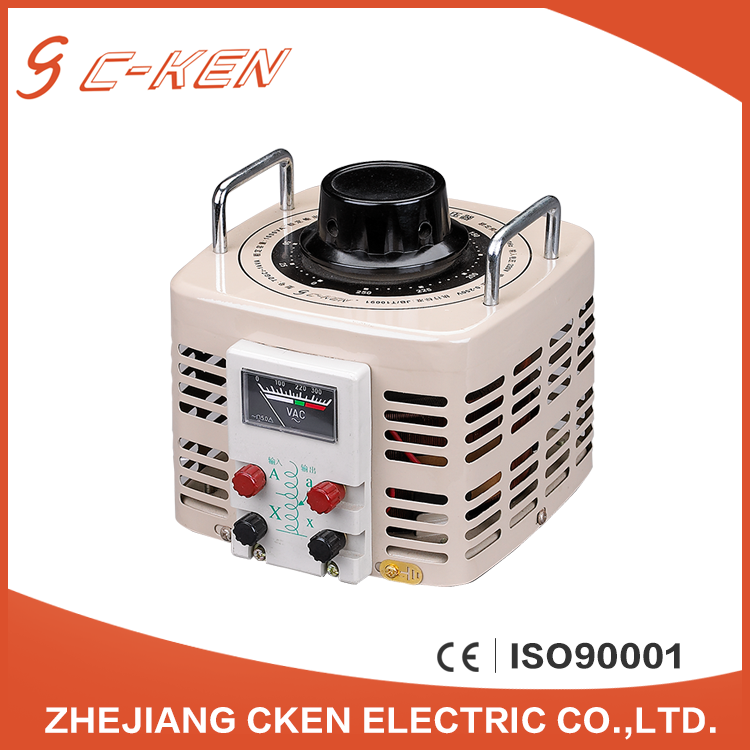 Cken Hot style CE TDGC2 single phase 1k high efficiency voltage regulators, series variac 220v ac