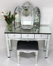 bedroom furniture set dressing table with mirror