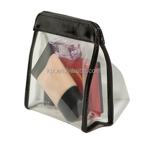 Mini Transparent PVC Cosmetic Bags with Zipper